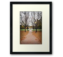 Boston Common - Boston - United States Framed Print