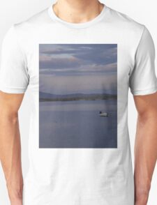 White Boat  Sunset- Burtonport - Donegal -  Ireland T-Shirt