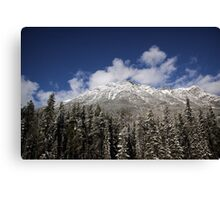 Rocky Mountains - Jasper - Canada Canvas Print