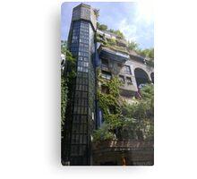 Hundertwasserhaus Vienna, Austria Metal Print