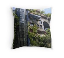 Hundertwasserhaus Vienna, Austria Throw Pillow