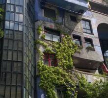 Hundertwasserhaus Vienna, Austria Sticker
