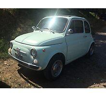 Fiat 500 Photographic Print