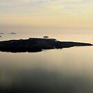 Santorini Reflections - Thira, Santorini by Ben Prewett