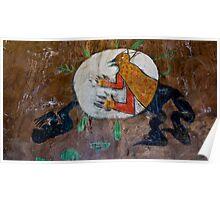 Anasazi Art Poster
