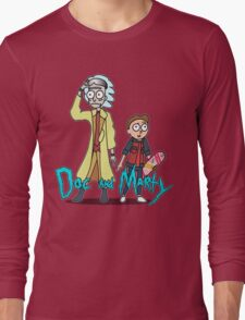 Doc and Marty Long Sleeve T-Shirt