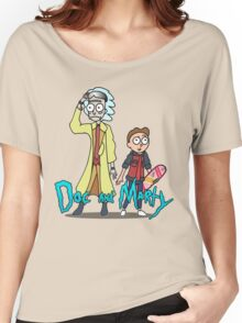 Doc and Marty Women's Relaxed Fit T-Shirt