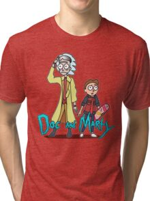 Doc and Marty Tri-blend T-Shirt