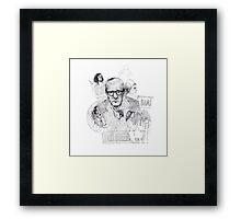 Woody Allen Framed Print