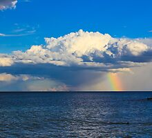 Rainbow Cloud by Dean Cunningham
