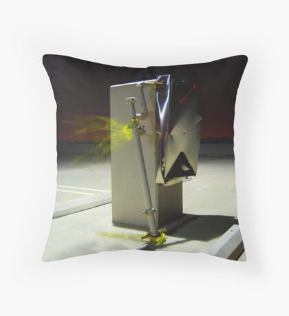 The Answer My Friend . . . Throw Pillow