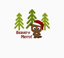 Beaver-y Merry Christmas Beaver Unisex T-Shirt