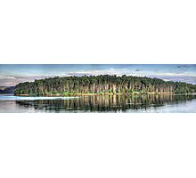 Tree Reflections - Narrabeen Lakes, Sydney Australia - The HDR Experience Photographic Print