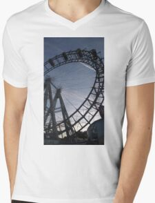 Vienna Riesenrad Mens V-Neck T-Shirt