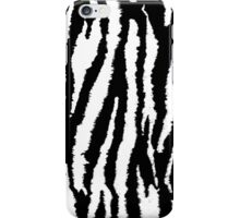 Neon Zebra in Black and White iPhone Case/Skin