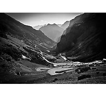 Davos to Stelvio Pass  Photographic Print