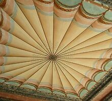 Unusual Ceiling of the Patio at the Breakers, Newport by Jane Neill-Hancock