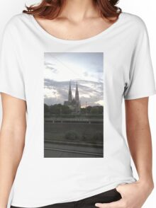 Votive Church, Vienna Women's Relaxed Fit T-Shirt