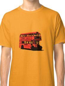 Vintage Red Double Decker London Bus Classic T-Shirt