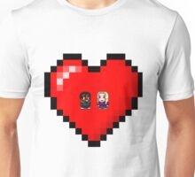 """Love in 8-bit"": Britta and Troy (Style A) Unisex T-Shirt"