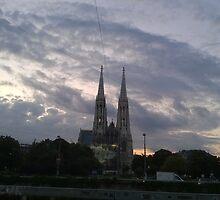 Votive Church, Vienna by Jord12