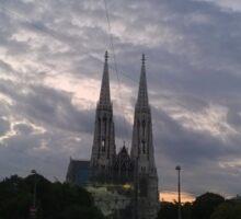 Votive Church, Vienna Sticker