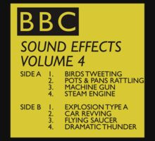 BBC Sound Effects Volume 4 by westonoconnor