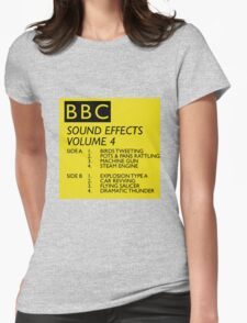 BBC Sound Effects Volume 4 Womens Fitted T-Shirt