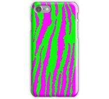 More Neon Zebra iPhone Case/Skin
