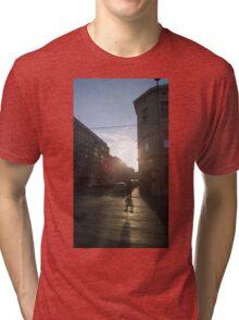 Austrian Sunset Tri-blend T-Shirt