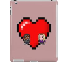 """Love in 8-bit"": Britta and Troy (Style B) iPad Case/Skin"