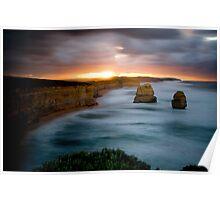 12 Apostles - Great Ocean Road - Victoria Poster