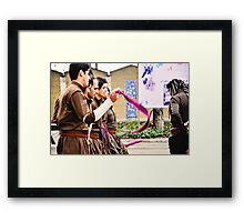 Kurdish Dance Framed Print
