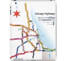 Chicago Highway Names iPad Case/Skin