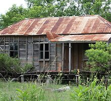 Old Home in Ruin Near Thornton by aussiebushstick