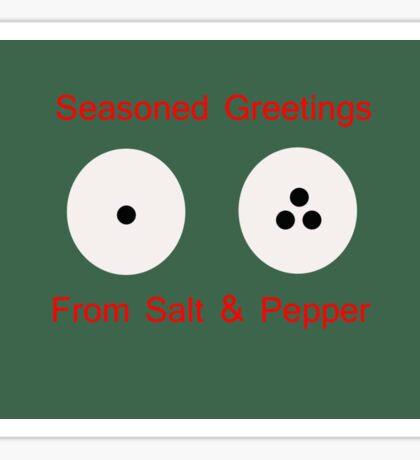 Seasoned Greetings  Sticker