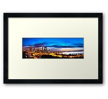 Perth City at Sunrise Framed Print