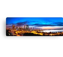 Perth City at Sunrise Canvas Print