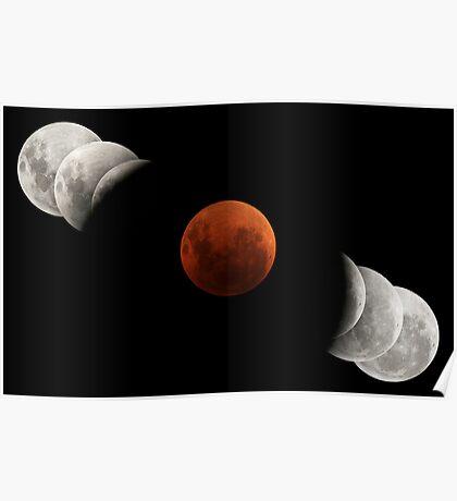 2007 Lunar Eclipse Poster