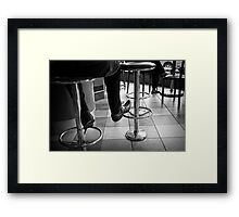 Coffee Bar Style Framed Print