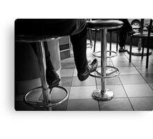 Coffee Bar Style Canvas Print