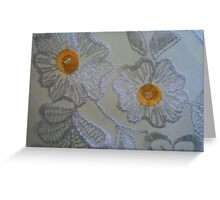 simply white... Greeting Card