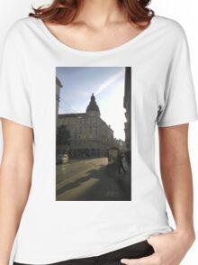 Vienna Sunset Women's Relaxed Fit T-Shirt