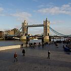 London Southbank view  by DavidHornchurch