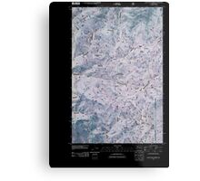 USGS Topo Map Washington State WA Loup Loup Summit 20110429 TM Inverted Metal Print
