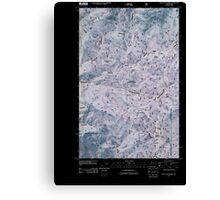 USGS Topo Map Washington State WA Loup Loup Summit 20110429 TM Inverted Canvas Print
