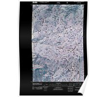 USGS Topo Map Washington State WA Loup Loup Summit 20110429 TM Inverted Poster