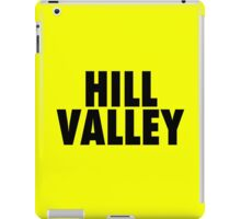 Hill Valley - Back To The Future iPad Case/Skin