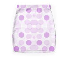 Lilac Spots Mini Skirt