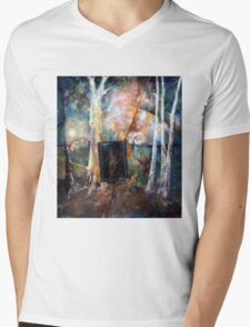 Wiew From Window Mens V-Neck T-Shirt